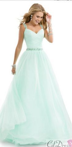 Sweet 16 mint green dress