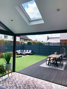Our Modern Conservatory Extension- Before and After Home Renovation Project 5 - Mummy Daddy Me # Modern Conservatory, Conservatory Extension, Conservatory Interiors, Conservatory Dining Room, House Extension Design, Extension Designs, Living Room Extension Ideas, Back Garden Design, Modern Garden Design