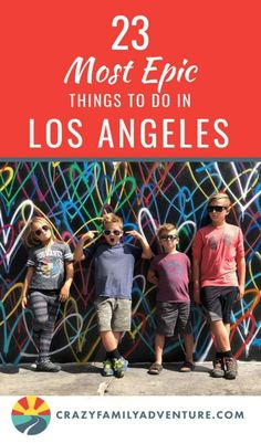 Not sure what things to do in Los Angeles With Kids? Never fear we have you covered! Come see our list of the most epic things to do in LA with Kids! La With Kids, Travel With Kids, Family Travel, Family Trips, Family Vacations, Family Adventure, Adventure Travel, Adventure Symbol, Diy Home Decor Living Room