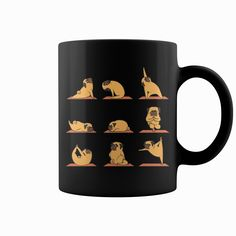 #Pug Yoga Mug, Order HERE ==> https://www.sunfrog.com/LifeStyle/116050442-481147270.html?8273, Please tag & share with your friends who would love it, #superbowl #xmasgifts #christmasgifts