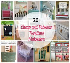 Cheap and Fabulous Furniture Makeovers!