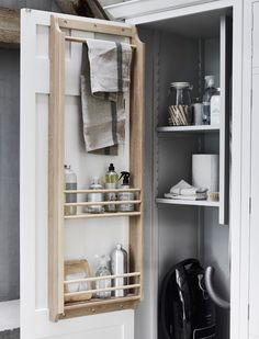 Utility Room Ideas Small Storage The Conspiracy 38 Laundry Cupboard, Utility Cupboard, Airing Cupboard, Laundry Cabinets, Laundry Room Storage, Cupboard Storage, Laundry Rooms, Utility Closet, Cupboard Ideas
