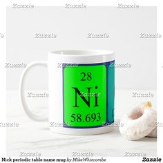 Shela periodic table name keyring pinterest periodic table nick periodic table name mug urtaz Gallery