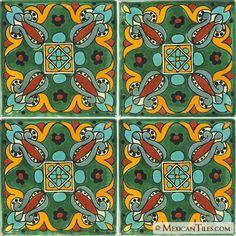 Mexican Tile - Arteaga 2 Mexican Tile