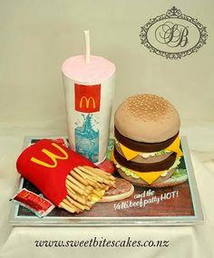 Big Mac Combo Cake
