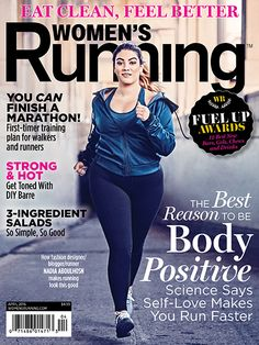 Nadia Aboulhosn on Women's Running Magazine is taking a pretty sweet step forward for body image!
