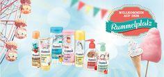 Balea Limited Edition Rummelplatz - zum Anbeißen süß!  http://www.mihaela-testfamily.de  #Balea #BaleaLimitedEdition #dm #Rummelplatz #bodycare #beauty