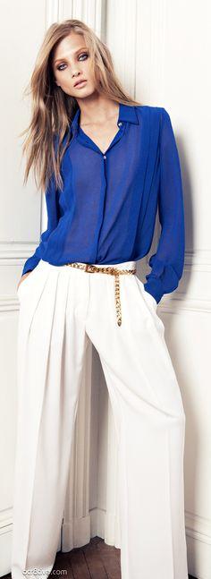 d6565f295f Anna Selezneva From the Mango 2012 Winter Collection Blazer Jeans