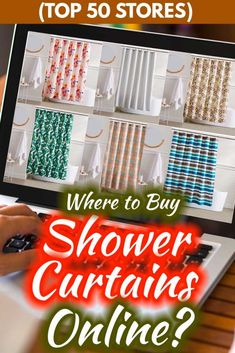 Where to Buy Shower Curtains Online: Top 40 Stores - Home Decor Bliss Home Design, Yorkshire, Girly, Top 40, Bathroom Interior Design, Shower Curtains, Home Decor Inspiration, Decorative Items, Bliss