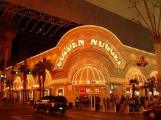"""The Golden Nugget, Vegas. This is the heart of the """"old"""" strip, still worth a visit."""