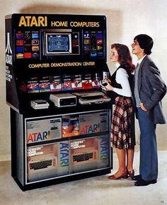 Atari Computer Demo - 1979 (via @Fitzgerald Georgia In Pics)