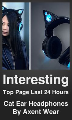 Top Interesting link on telezkope.com. With a score of 11375. --- Cat Ear Headphones By Axent Wear. --- #interesting --- Brought to you by telezkope.com - socially ranked goodness
