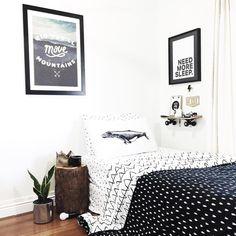 Wild Inside 8 year olds bedroom @brownpaperlemon