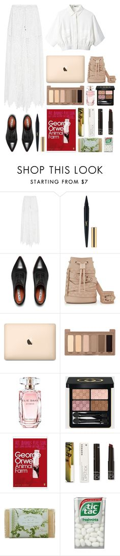 """3.880"" by katrina-yeow ❤ liked on Polyvore featuring sass & bide, Acne Studios, Marina Hoermanseder, Urban Decay, Elie Saab, Gucci, Korres and K. Hall Designs (Simpatico)"