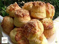 Receptek, és hasznos cikkek oldala: Sajtos pogácsa Creme Brulee, Baked Potato, Bacon, Menu, Potatoes, Vegetables, Ethnic Recipes, Kitchen, Menu Board Design