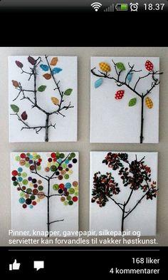 fall activities for grade school age children fall crafts for kids - Kids Crafts Autumn Crafts, Fall Crafts For Kids, Autumn Art, Nature Crafts, Crafts To Do, Art For Kids, Arts And Crafts, Kids Crafts, Tree Crafts