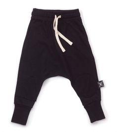patch baggy pants