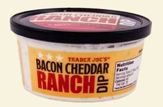 Bacon Cheddar Ranch Dip | 34 Trader Joe's Products Our Readers Are Obsessed With