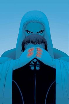 Emma Frost and Cyclops by John Cassaday *