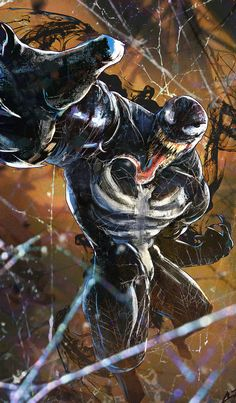 Find over images of Venom. ✓ Nice Pictures for your devices like PC, Android Mobile, iOS, Mac, etc. Marvel Comics, Marvel Venom, Marvel Villains, Marvel Art, Marvel Heroes, Comic Book Characters, Marvel Characters, Comic Character, Comic Books