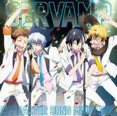 Official cover of Servamp mini album! It will feature the insert song of Episode 10[sung by Licht(Nobunaga Shimazaki) and Hyde(Ryohei Kimura)] and also the insert song of Episode 11[sung by Mahiru(Takuma Terashima) and Kuro(Kaji Yuki)] plus a lot more!