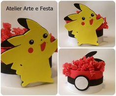 Enfeite Pokemon #atelierartefesta #pokemon #festapokemon #pikachu #festainfantil