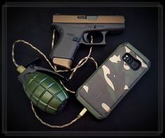 Army inspirace 🏴☠️ Mobiles, Hand Guns, Firearms, Pistols, Mobile Phones