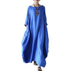 Купить товарВысокое Качество Лето Весна Краткое 100% Linen Dress Женщины Старинные повседневная Плюс Размер Длиной Макси Dress Vestidos Лонго Халат Платья 2017 в категории Платьяна AliExpress. пожалуйста, проверьте размер диаграммы, прежде чем купить этот пункт, это Китайский размер, спасибо.размердлина (см)об