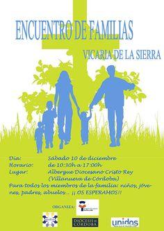 La Vicaría de la Sierra celebrará un Encuentro de Familias