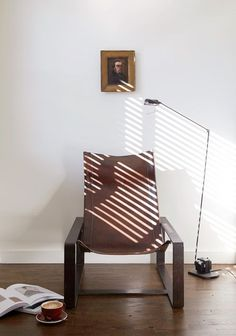A Sleek Jean Pierre Nicolini Leather Chair Once Owned By Picasso In