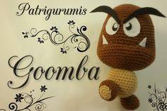 DIY Goomba amigurumi en ganchillo - Crochet