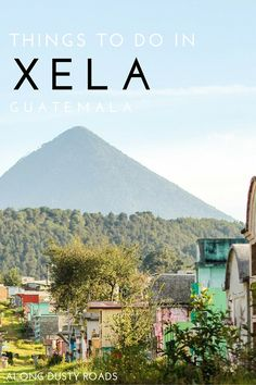Quetzaltenango, also known by its Maya name, Xelajú or Xela, is the second largest city of Guatemala. #guatemala