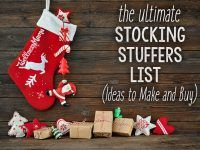 57 Stocking Stuffers (Ideas to DIY or Buy)
