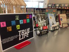 TRUE LIFE: Biographies and memoirs on display. (January 2015)