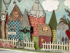 Happy Village by Anna-Karin
