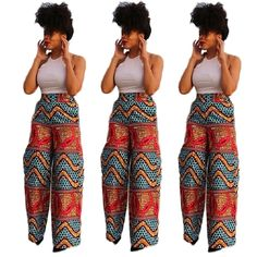 Style: Casual Gender: Women Clothing Length: Regular Pattern Type: Print Closure Type: None Material: Cotton,Polyester Dresses Length: Ankle-Length Pant Closure Type: Elastic Waist Collar: O-Neck Slee