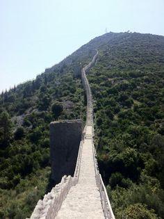 Croatia, Walls of Ston (7 km long)