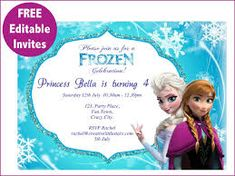 Image result for frozen birthday party banner printable free