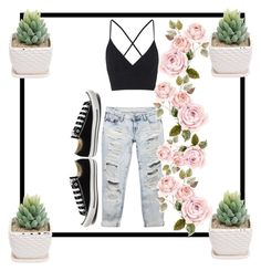 """sweet and casual"" by iust1na23 on Polyvore featuring Wet Seal, Converse, Topshop, women's clothing, women, female, woman, misses and juniors"
