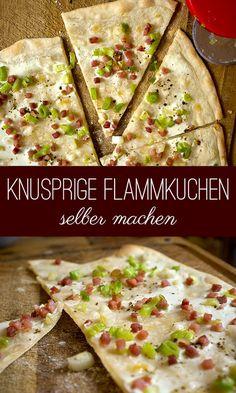 Flammkuchen selber machen | Madame Cuisine Rezept