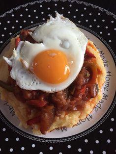 Polenta Crémeuse, Menu, Eggs, Diet, Snacks, Breakfast, Food, Vegetarian Cooking, Cooking Recipes