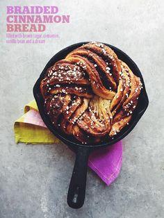 Braided Cinnamon Bread // take a megabite
