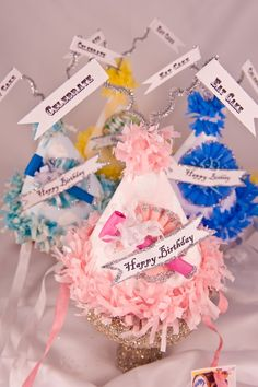 birthday hats http://www.etsy.com/listing/62851776/kids-happy-birthday-party-hats