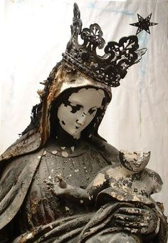 virgin Mary #statue