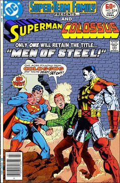 Super-Team Family: The Lost Issues!: Superman and Colossus