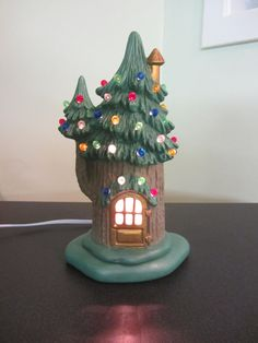 Hey, I found this really awesome Etsy listing at https://www.etsy.com/listing/215153178/winter-fairy-house-pine-tree-faerie