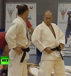 President Vladimir Putin in a warm-up session before enjoying his martial arts. Looking Good Mr President Putin Funny, Migraine Triggers, Office Exercise, Gif Dance, Mr President, Vladimir Putin, Workout Humor, World Leaders, Trending Memes