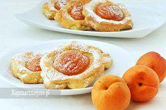 Ciasteczka serowe z morelami, ciasteczka, morele, deser, http://najsmaczniejsze.pl #deser #cookies #morele