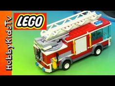 ▶ LEGO City Fire Truck - Box Opening, Build and Play (60002) - YouTube ~Dylan/Cody