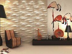 Стеновые панели 3D панели в сочетании с грамотным распределением света создают совершенно особый интерьер. Африканский стиль